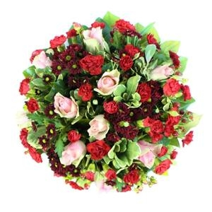 Red & Pink Classic Posy