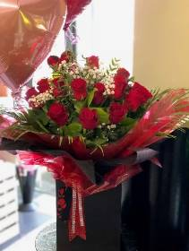 24 Red Rose Aqua Pack Bouquet